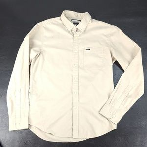 RVCA Small Men's Button Collar Shirt